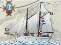 Avis de recherche ! Notre Dame d'Etel, la troisième goélette de la Marine.