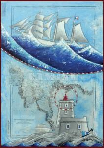 Carte postale Ile Noire