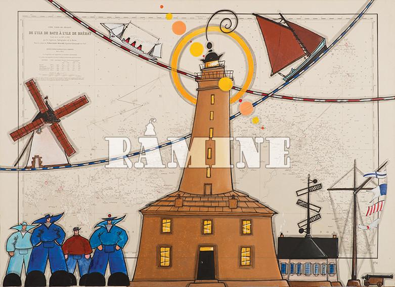 Le phare de l'île de Batz