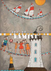 Roscoff et les loisirs nautiques, 73 x 100 cm