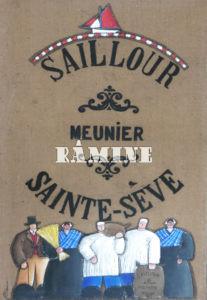 Moulin de Sainte Sève, 73 x 116 cm