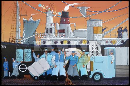 Carte postale Dockers