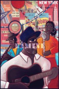 Carte postale Jazzmen