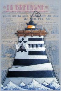 Carte postale phare breton