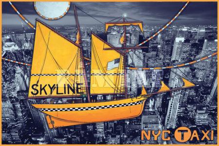 Carte postale Skyline