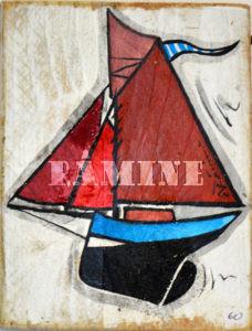 Acrylique sur bois, 15 x 20 cm