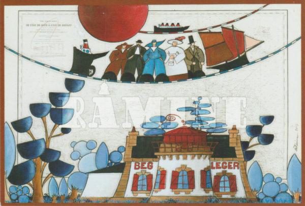 Carte postale Beg Leger