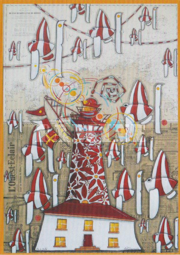 Carte postale Ile de Batz