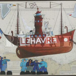 Carte postale Le Havre