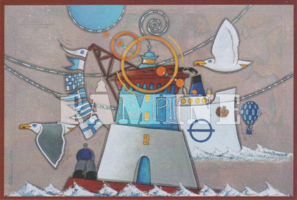 Carte postale Pierres Noires