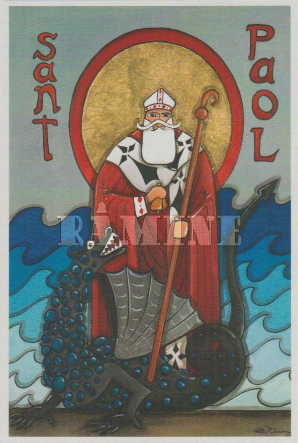 Carte postale Saint Paol