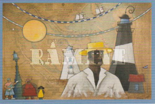 Carte postale Savannah